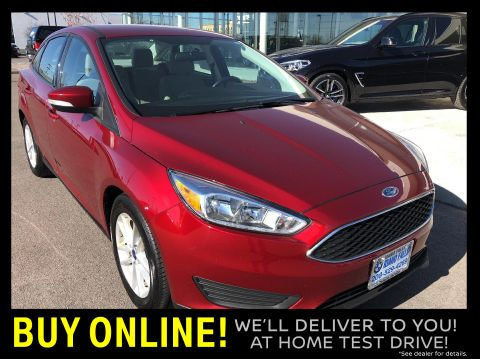 Pre-Owned 2017 Ford Focus SE FWD Sedan