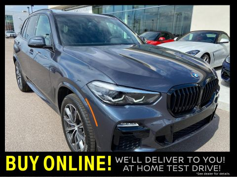 New 2020 BMW X5 xDrive40i Sports Activity Vehicle AWD Sport Utility