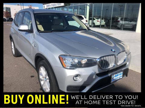 Pre-Owned 2017 BMW X3 xDrive28i Sports Activity Vehicle AWD Sport Utility