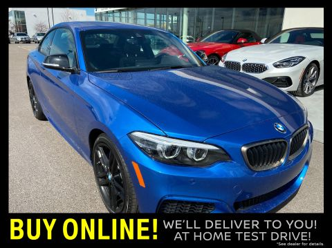 New 2020 BMW M240i xDrive Coupe AWD Coupe