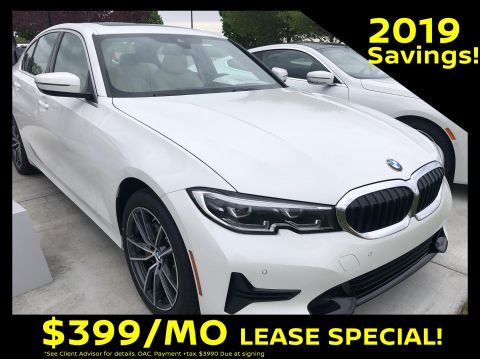New 2019 BMW 330i xDrive Sedan AWD Sedan