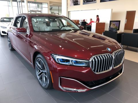 New 2020 BMW 7 Series 750i