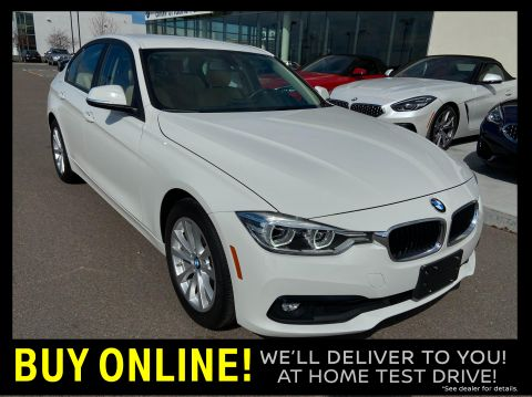 Pre-Owned 2018 BMW 320i xDrive Sedan AWD Sedan
